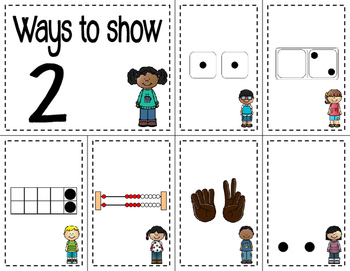 Number Sense Sorts Kids (0 to 10)