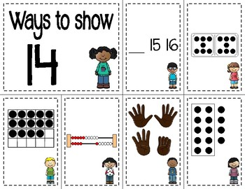 Number Sense Sorts Kids (11 to 20)