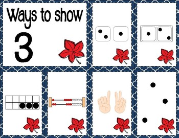Number Sense Sorts for October (0 to 10)