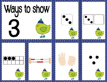Number Sense Sorts for January (0 to 10)
