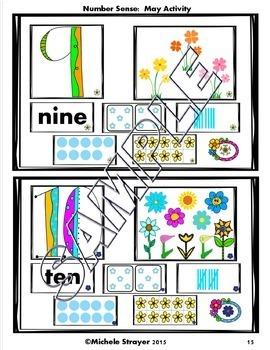 Number Sense Spring Bundle: April, May, June