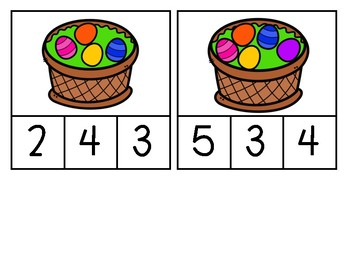 Number Sense: Spring Edition Counting to 10