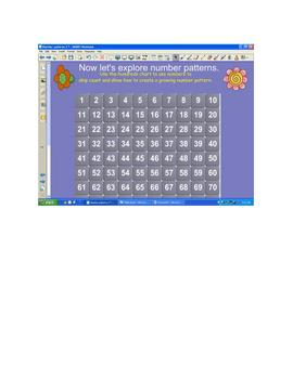 Number Sense - Spring Growing Number Patterns (Skip Counting)