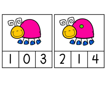 Number Sense: Spring II Edition: Counting from 0-10
