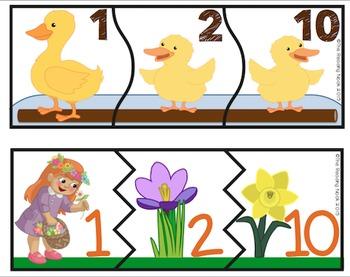Spring Number Sense