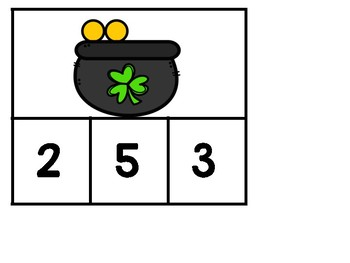 Number Sense: St.Patrick's Day Counting to 10