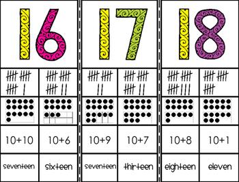Number Sense Strips