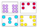 Number Sense Subitizing Activity Cards