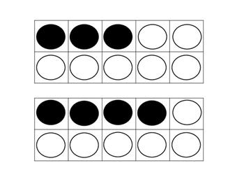 Number Sense Subitizing Cards Math Station