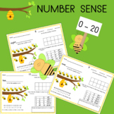 Ten Frames, Number Lines, and Tally Marks Write and Wipe Cards