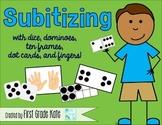 Number Sense: Subitizing Cards, Games, & Activities