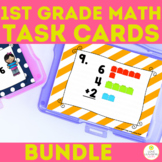 Number Sense Scoot Task Cards BUNDLE Greater Less Than, Counting