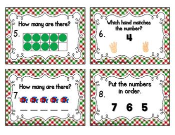 Number Sense Task Cards Set 1: Numbers 1-10