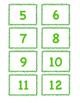 Number Sense Teddy Bear Match Up 1-20