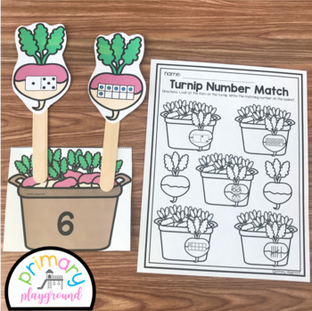 Turnip Number Sense To 10-Garden Center