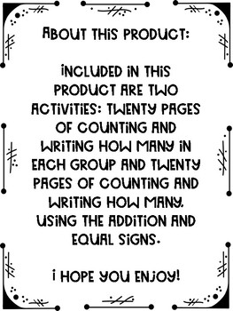 Number Sense: Understanding and Beginning Addition