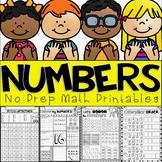 Number Sense Unit