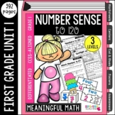 First Grade Number Sense: Unit 1 | Common Core Aligned & Differentiated