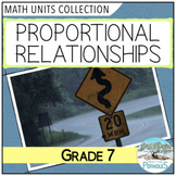 Proportions Unit (Rates and Ratios) - Grade 7 Math Unit