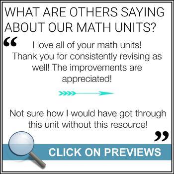 Grade 7 Math - Number Sense - All Units