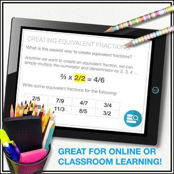 Number Sense Unit Bundle (3 Units) : Grade 7 Math (factors, fractions, rates)