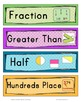Number Sense Vocabulary Activities and Resources for Second Grade