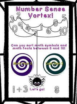 Number Sense Vortex Game