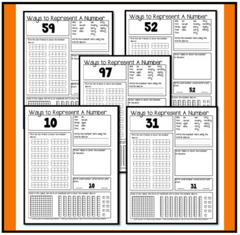 Number Sense ~ Daily Worksheets to Practice Numbers 1 to 120