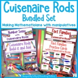 Cuisenaire Rods Bundled Set   Number Sense, Fact Families,