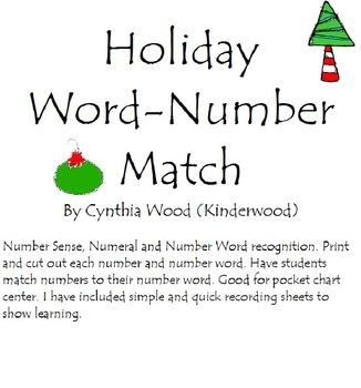Number Sense Word Numbers