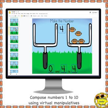 Number Sense Workmats for Google; Digital Resources
