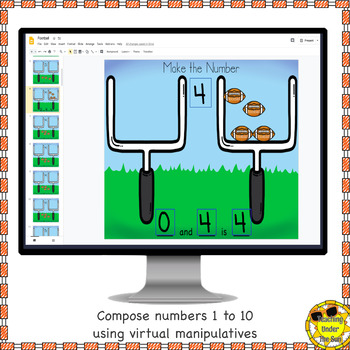 Number Sense Activities Compose and Decompose Numbers Google Digital Counting