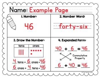 Number Sense Worksheet - Freebie!