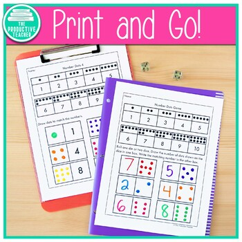 Number Sense Worksheets (1 - 10)