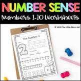 Number Sense Worksheets 1 to 10