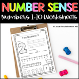 Number Sense Worksheets 1 to 10