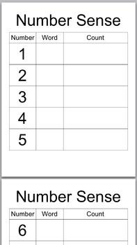 Number Sense Workstation Package