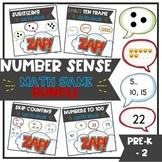 Number Sense - ZAP math game BUNDLE
