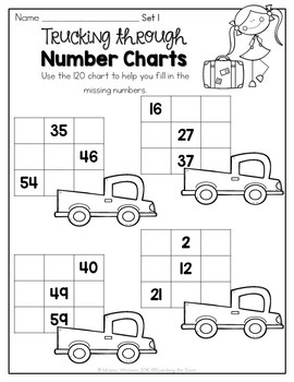 Number Sense and 120 Hundreds Chart