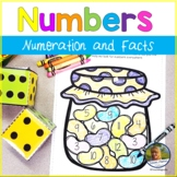 Number Sense and Addition Math Games Jellybeans