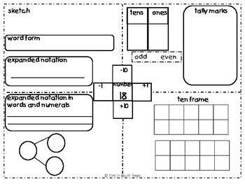Number Sense and Identification