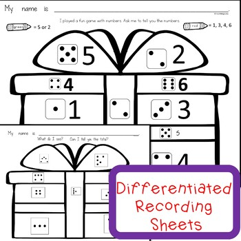 Free Number Sense and Number Gift Coloring Game!