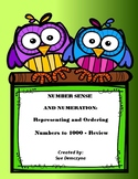 Number Sense and Numeration - Representing and Ordering Nu