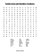 Number Sense and Operation Word Search