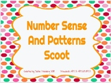 Distance Learning Number Sense and Patterns Scoot Game
