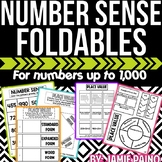 Number Sense and Place Value FOLDABLES