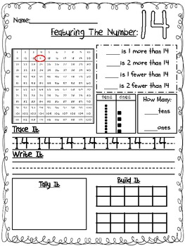 Number Sense and Place Value Pack