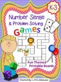 Number Sense and Problem Solving Games For K-2