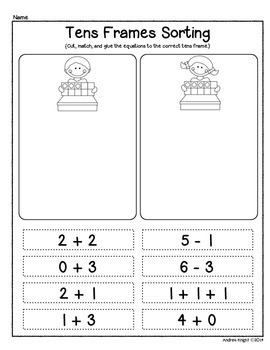 Number Sense and Problem Solving Using Tens Frames