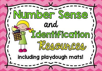 Number Sense and Identification Resources / Flash Cards and Playdough Mats 1-10